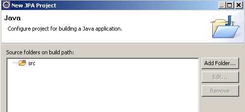 Source folders