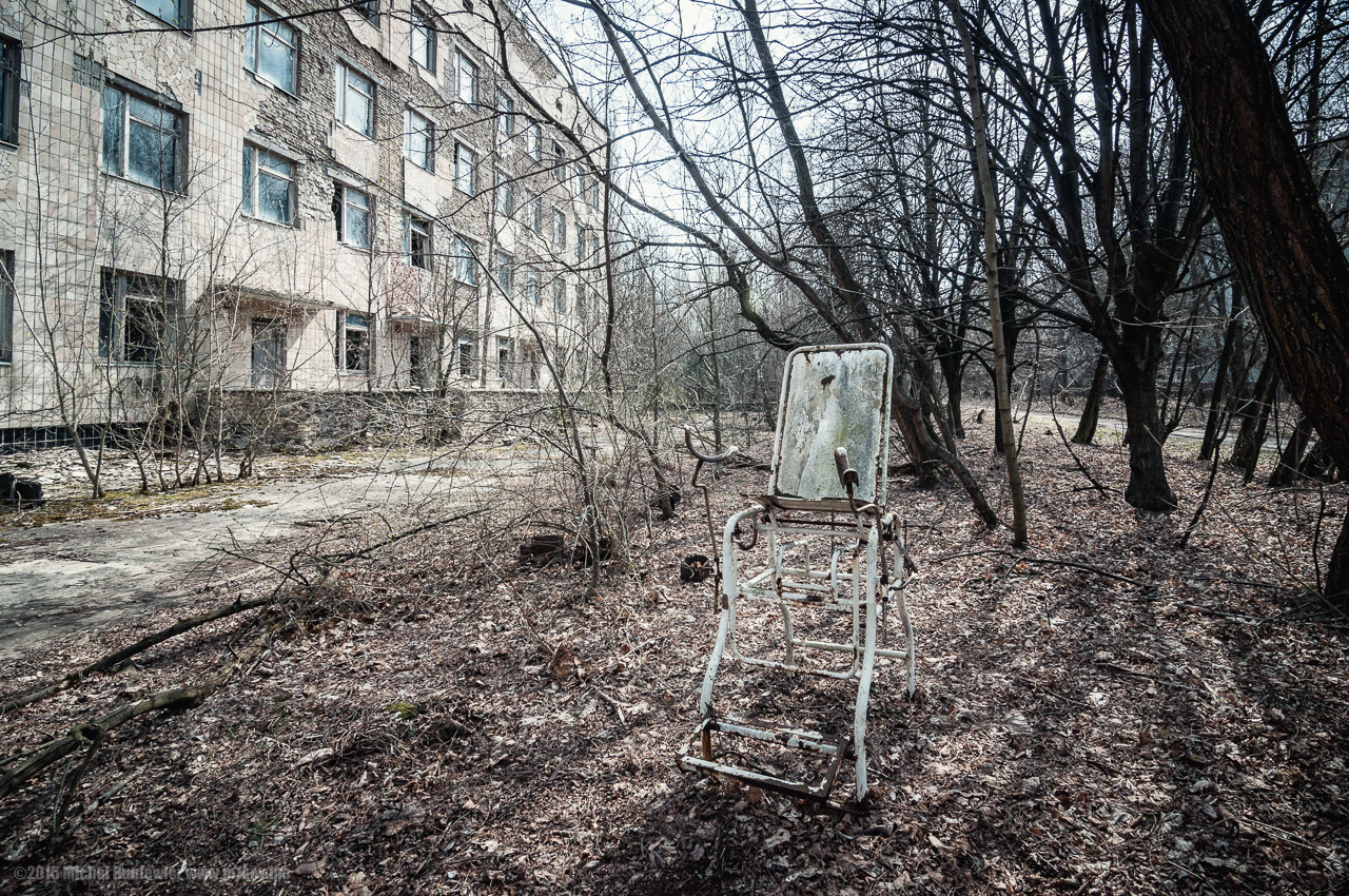 The most contaminated but easily accessible place in the Chernobyl Exclusion Zone today ©Michal Huniewicz